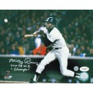 "Mickey Rivers New York Yankees Autographed 8"" x 10"" Photograph Inscribed with ""77+78 WS Champs"" (Unframed)"
