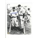 "Phil Rizzuto New York Yankees Autographed 8"" x 10"" with Joe DiMaggio Photograph (Unframed)"