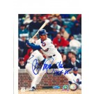 """Ryne Sandberg Chicago Cubs Autographed 8"""" x 10"""" Photograph Inscribed with """"HOF 05"""" (Unframed)"""