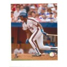 """Rafael Santana New York Mets Autographed 8"""" x 10"""" Photograph Inscribed with """"86 WS Champs"""" (Unframed)"""