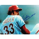 "Kevin Saucier Philadelphia Phillies Autographed 8"" x 10"" Unframed Photograph Inscribed with ""1980 WS Champs"""