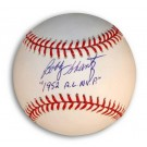 "Bobby Shantz Autographed Baseball Inscribed with ""1952 AL MVP"""