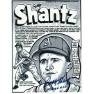 "Bobby Shantz Kansas City Athletics Autographed 8"" x 10"" Unframed Lithograph Inscribed with ""1952 AL MVP"""