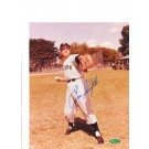 """Enos Slaughter New York Yankees Autographed 8"""" x 10"""" Throwing Ball Photograph (Unframed)"""