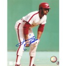 "Lonnie Smith Autographed Philadelphia Phillies 8"" x 10"" Photograph (Unframed)"