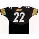 Duce Staley Autographed Pittsburgh Steelers Black Football Jersey
