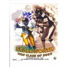 "John Stallworth Pittsburgh Steelers Autographed 8"" x 10"" Hall of Fame Collage  Photograph Inscribed ""HOF 02"" (Unframed)"