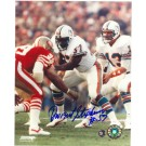 """Dwight Stephenson Miami Dolphins Autographed 8"""" x 10"""" Photograph (Unframed)"""