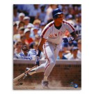 "Darryl Strawberry New York Mets Autographed 16"" x 20"" Gray Jersey Photograph Inscribed with ""86 WS Champs"" (Unframed)"