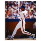 "Darryl Strawberry New York Mets Autographed 16"" x 20"" White Jersey Photograph Inscribed with ""86 WS Champs"" (Unframed)"