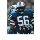 "Darryl Talley Autographed ""In Throwback Uniform"" Buffalo Bills 8"" x 10"" Photo"