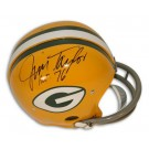 """Jim Taylor Green Bay Packers Autographed Riddell Pro Line RK Throwback NFL Full Size Football Helmet Inscribed with """"HOF 76"""""""