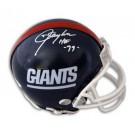 "Lawrence Taylor Autographed New York Giants Mini Helmet Inscribed ""HOF 99"""