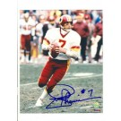 "Joe Theismann Washington Redskins Autographed 8"" x 10"" Photograph with ""#7"" Inscription (Unframed)"