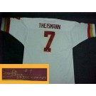 "Joe Theismann Autographed Washington Redskins Authentic NFL Throwback White Jersey with ""SB XVII Champs"" Inscription"