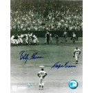 """Bobby Thomson Autographed and Ralph Branca Dual Signed 8"""" x 10"""" Photo"""