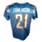 LaDainian Tomlinson San Diego Chargers Autographed Authentic Reebok NFL Football Jersey (Powder Blue)