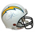 LaDainian Tomlinson Autographed San Diego Chargers Riddell Pro Line Full Size NFL Helmet