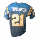 LaDainian Tomlinson Autographed San Diego Chargers Powder Blue Reebok Authentic Jersey