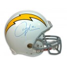 LaDainian Tomlinson Autographed San Diego Chargers White Throwback Riddell Pro Line Full Size NFL Helmet