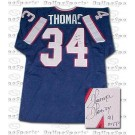 "Thurman Thomas Buffalo Bills NFL Autographed Throwback Jersey with ""1991 NFL MVP"" Inscription"
