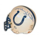 Johnny Unitas Baltimore Colts Autographed Riddell Mini Football Helmet