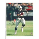 """Tyrone Wheatley Oakland Raiders Autographed 8"""" x 10"""" Photograph with """"#47"""" Inscription (Unframed)"""