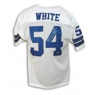 """Randy White Autographed Dallas Cowboys White Throwback Jersey Inscribed """"CO MVP SB XXI"""""""
