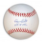 """Roy White Autographed MLB Baseball Inscribed with """"1977-78 WSC"""""""