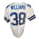 Roy Williams Autographed Custom Throwback NFL Football Jersey (White)