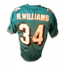 Ricky Williams Autographed Miami Dolphins Teal Jersey