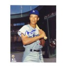 """Maury Wills Los Angeles Dodgers Autographed 8"""" x 10"""" Photograph (Unframed)"""