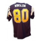 "Kellen Winslow Autographed San Diego Chargers Throwback Jersey with ""HOF 95"" Inscription"