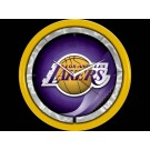 Los Angeles Lakers Plasma Neon Clock