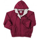 Youth Hooded Fleece Lined Taffeta Jacket From Augusta Sportswear