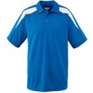 Wicking Textured Color Block Sport Shirt from Augusta Sportswear
