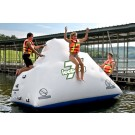 7' Iceberg Inflatable Floating Climbing Wall and Water Slide