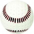 Seamed Pitching Machine Baseballs from Baden (White) - 1 Dozen