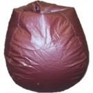 Burgundy Muted Bean Bag Chair