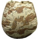 Desert Storm Camouflage Bean Bag Chair