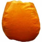 Orange Plush Fur Bean Bag Chair
