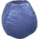 Royal Faux Suede Bean Bag Chair