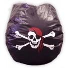 Jolly Roger Vinyl Bean Bag Chair