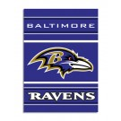 "Baltimore Ravens 28"" x 40"" Two-Sided Banner from Fremont Die"