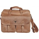 NCAA Texas Longhorns Sedona Canyon Leather Computer Briefcase