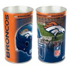 "Denver Broncos 15"" Waste Basket"