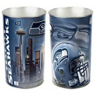 "Seattle Seahawks 15"" Waste Basket"