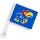 Kansas Jayhawks Car Flags - 1 Pair