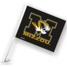 Missouri Tigers Car Flags - 1 Pair