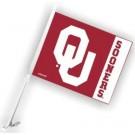 Oklahoma Sooners Car Flags - 1 Pair